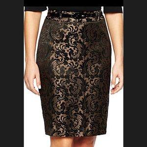 Gold Worthington Skirt